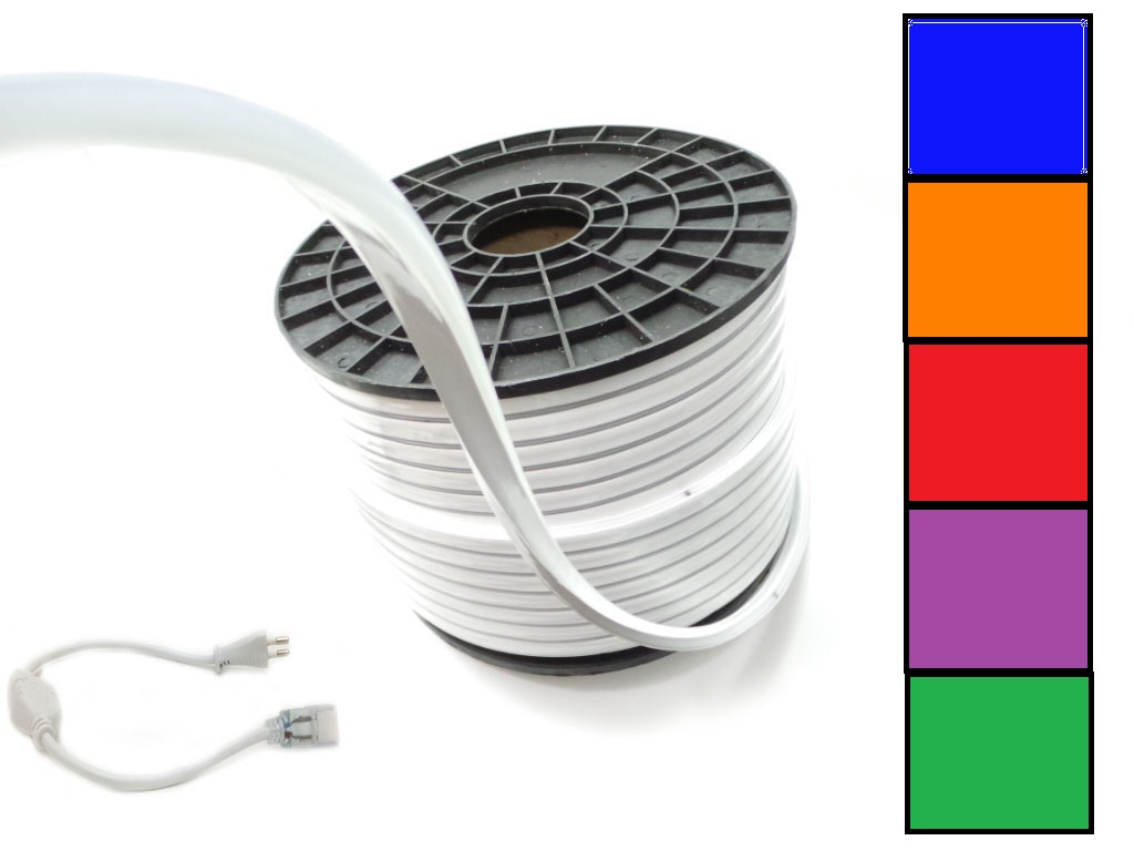 100m Led Strip 220V Color smd2835-120 100M-S6-2835-120